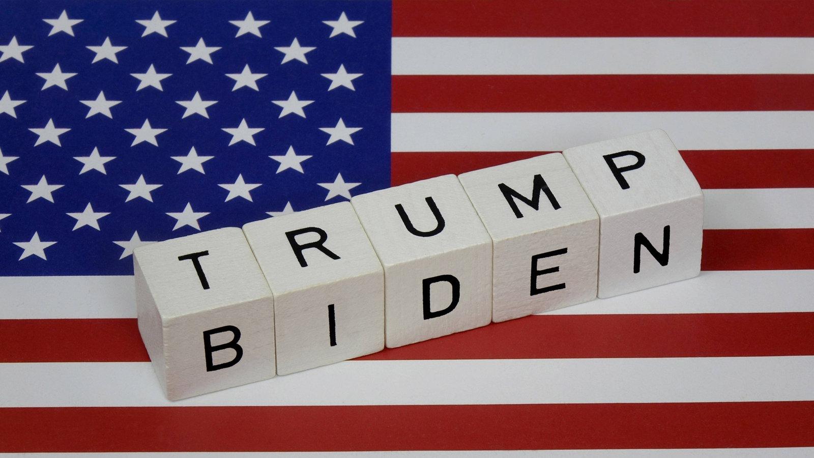 Amerika Wahlen Stand
