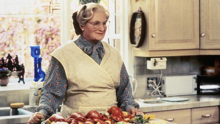 Robin Williams als Mrs. Doubtfire