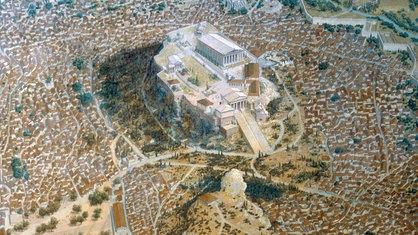 Das klassische Athen aus der Vogelperspektive
