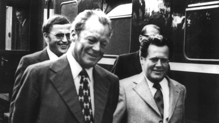 Willy Brandt und Günter Guillaume