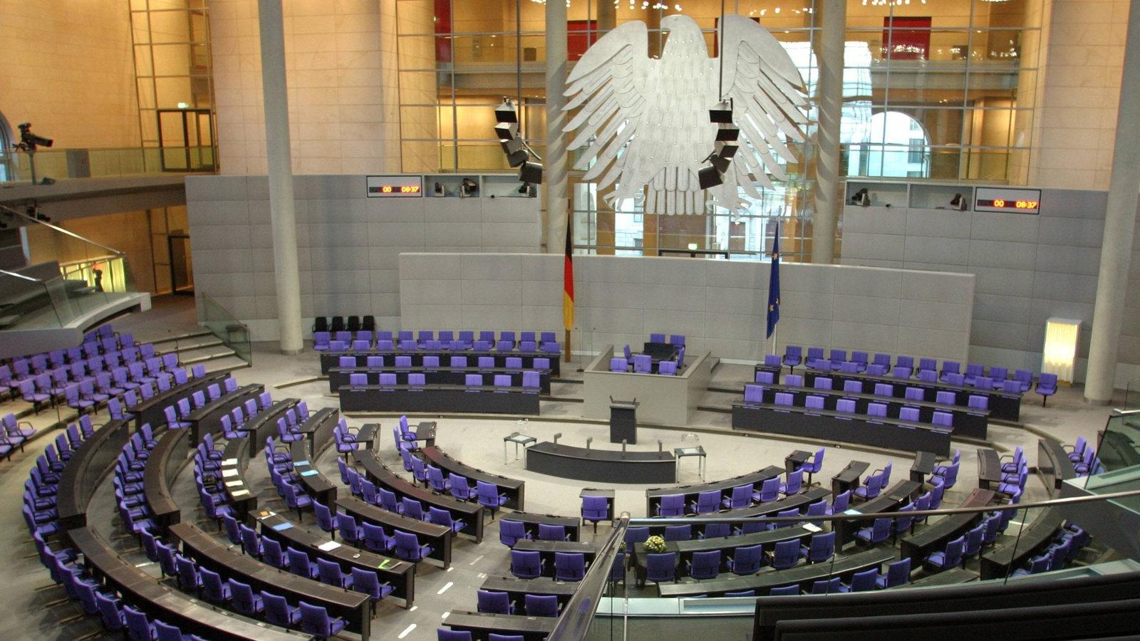 Deutsche Geschichte: Deutscher Bundestag - Deutsche ...
