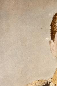 Wilhelm II. auf einem colorierten Foto