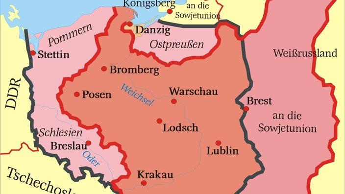 Flucht Und Vertreibung Polnische Westverschiebung Deutsche