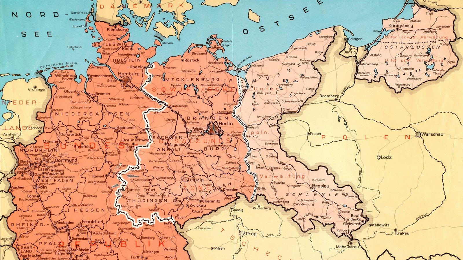 Flucht und Vertreibung: Hitlers Krieg im Osten - Deutsche ... - Deutschland 1939 Karte