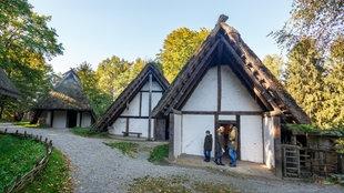 Ein germanisches Gehöft im Freilichtmuseum Oerlinghausen