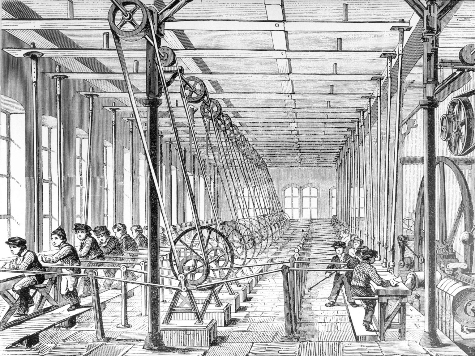 Wann war die industrialisierung