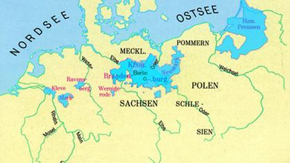 Geschichte Preußens Entwicklung Preußens Deutsche Geschichte