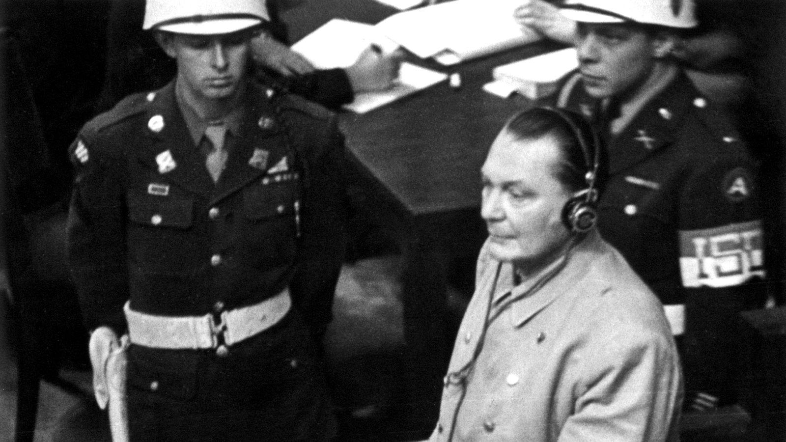 Nürnberger Prozesse Göring