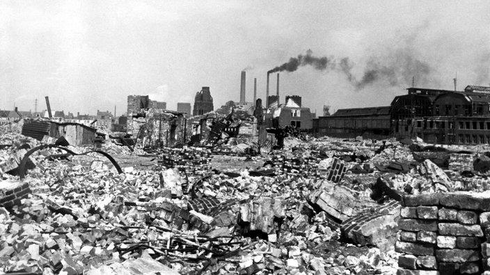 Nachkriegszeit Wiederaufbau Deutsche Geschichte Geschichte
