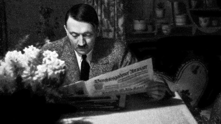 adolf hitler liest - Hitlers Lebenslauf
