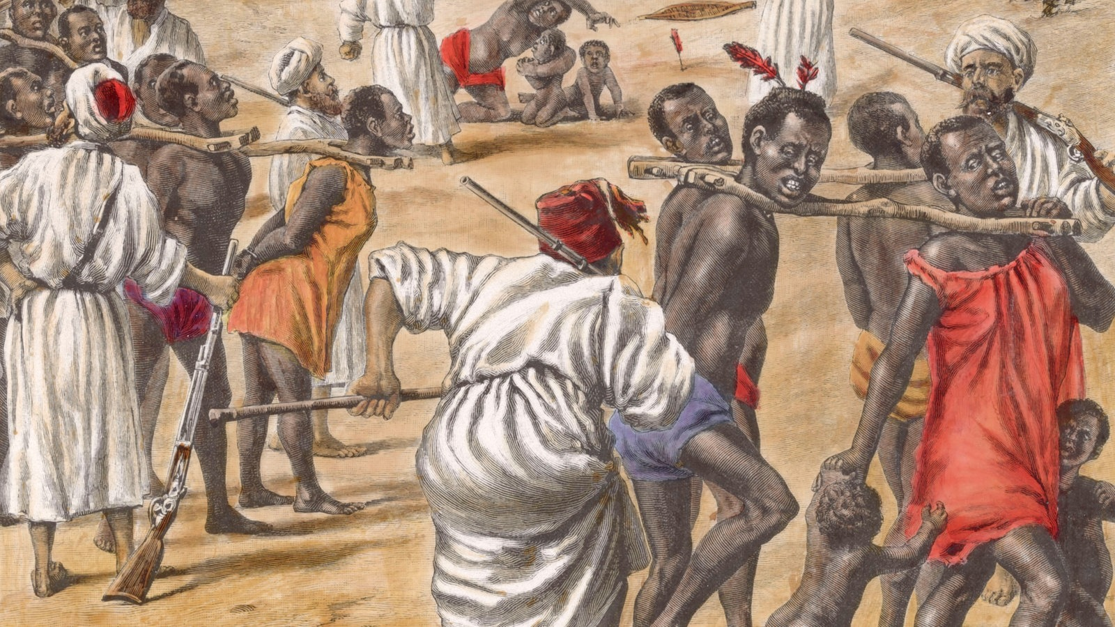 Entdeckung Neuer Sklaven