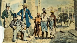 Amerikanischer Sklavenjunge