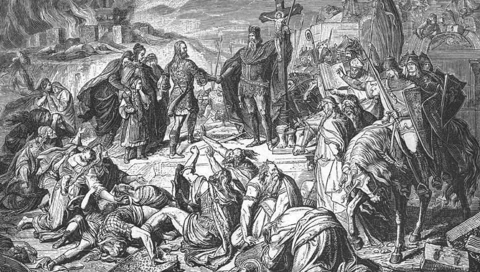 karl der groe unterwerfung der sachsen - Karl Der Grose Lebenslauf