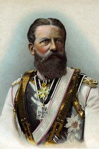 Brustbild von Friedrich III