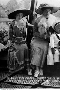 Porträtfoto von Kaiser Wilhelm II.
