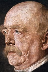 Porträt von Otto Bismarck
