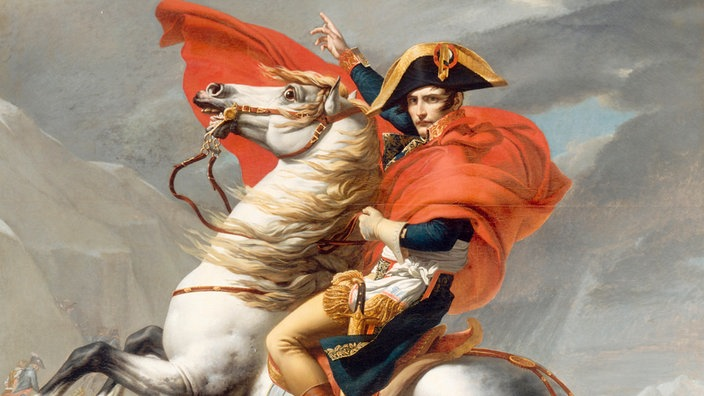 napoleon bonaparte napoleon beim bergang ber den groen st bernhard gemlde von jacques louis david - Napoleon Bonaparte Lebenslauf