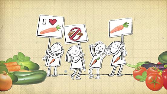 Vegetarisch-vegane Ernährung bei Kindern und