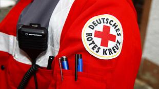 Jacke eines Rettungssanitäters