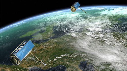 Infrarot satelliten film