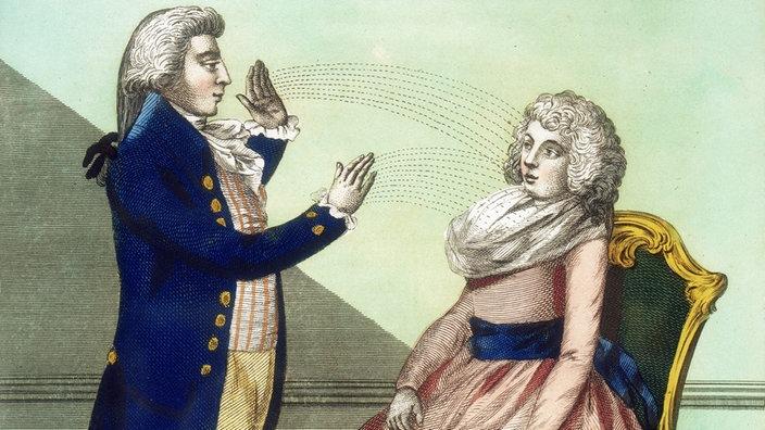 Frau im körper hypnose einer Hypnose bei