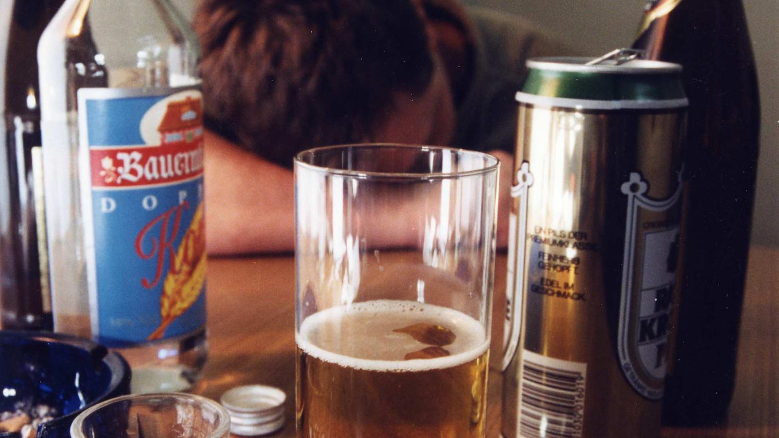 Die Behandlung ksenonom vom Alkoholismus