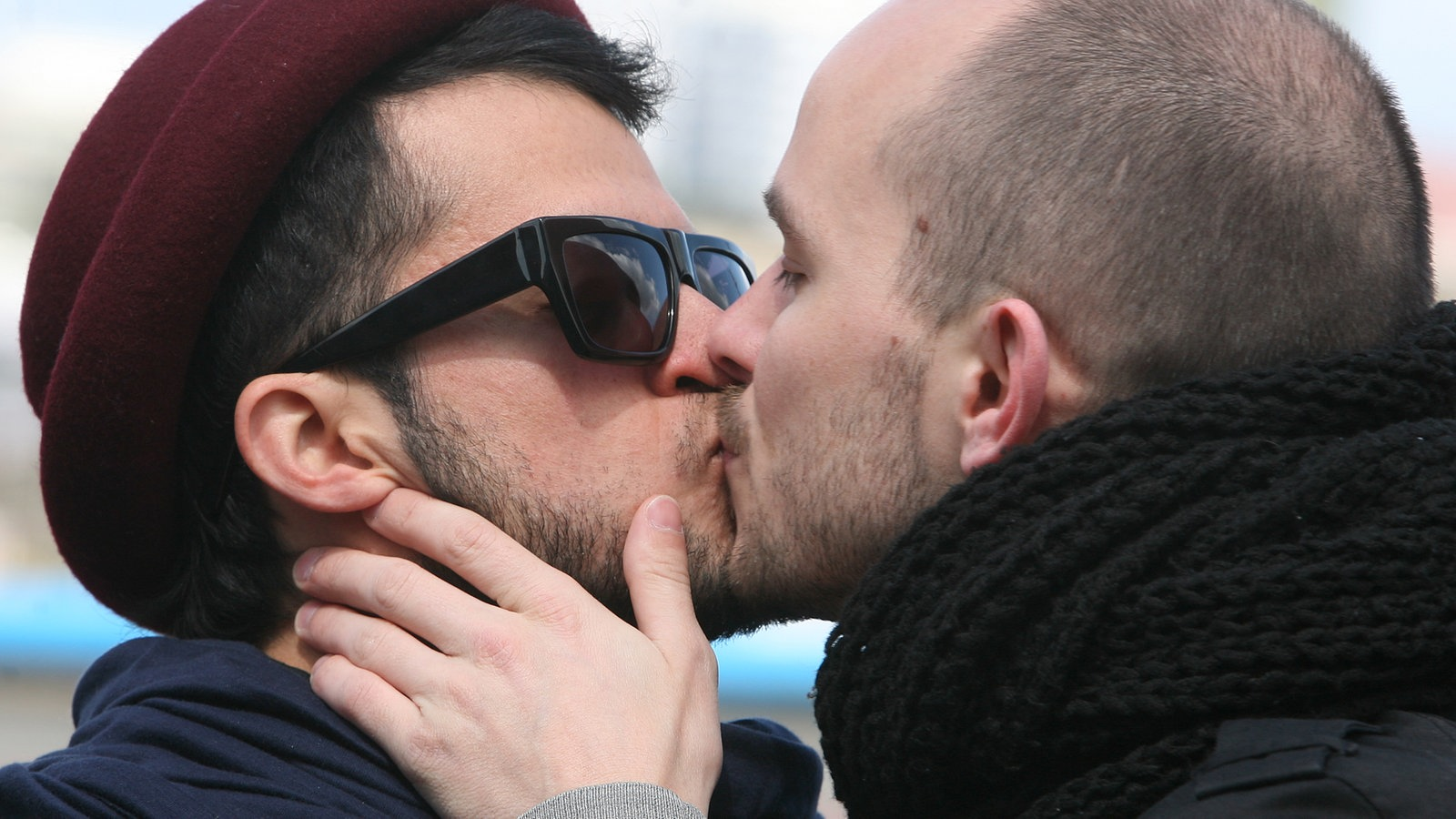 lespen küssen sich