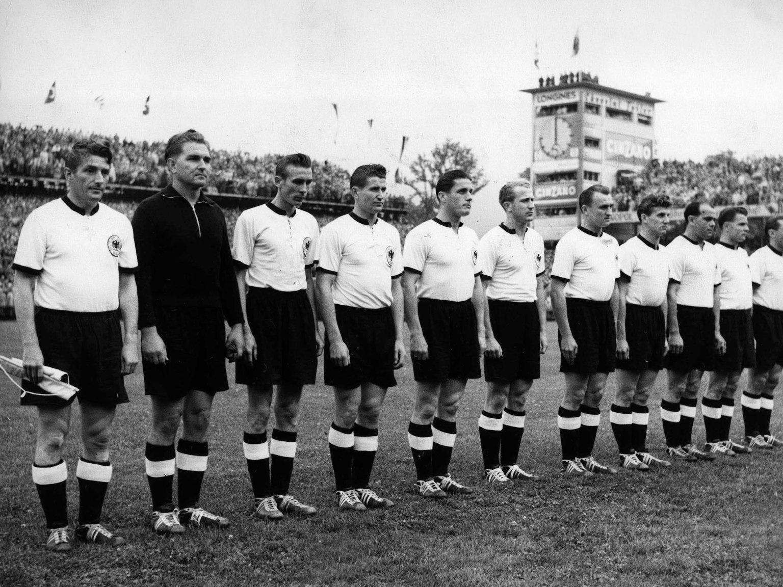 Fussball Weltmeisterschaft 1954 Sieger Mannschaft Sport