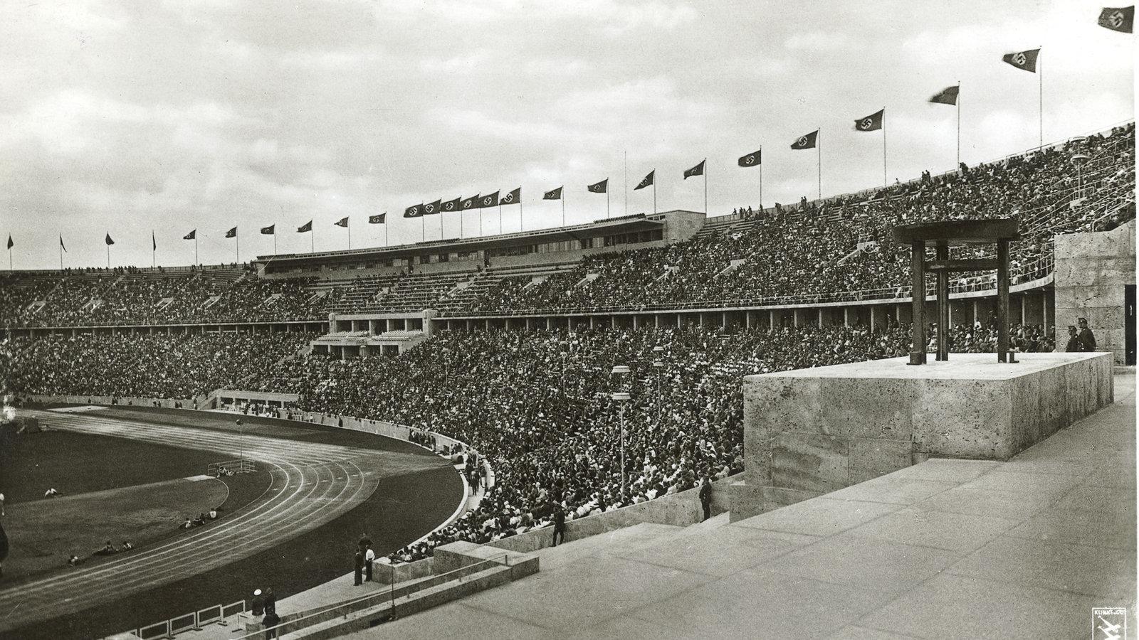 olympische spiele die olympischen spiele 1936 sport gesellschaft planet wissen. Black Bedroom Furniture Sets. Home Design Ideas