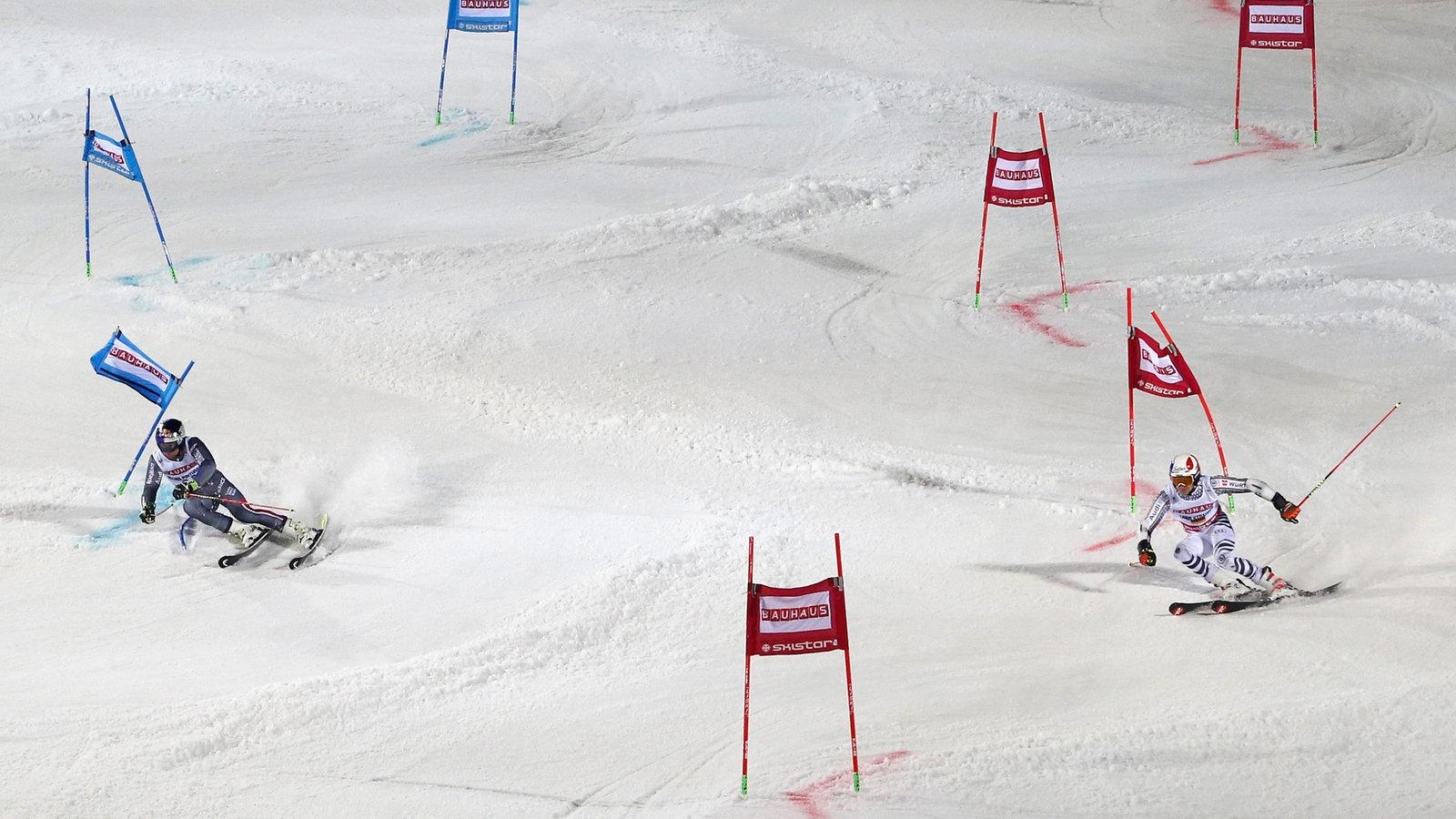 Ski Alpin Fahrer