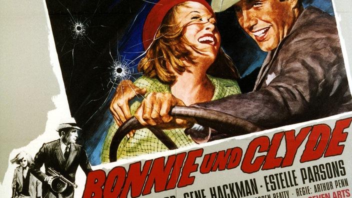 """Cartel de la película """"Bonnie y Clyde"""".  title ="""