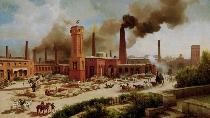 Umweltverschmutzung Industrialisierung