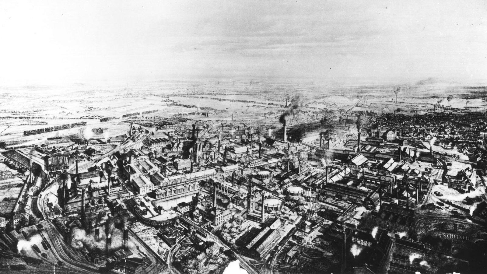 Urbanisierung Industrialisierung