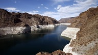 Stausee Lake Mead in den USA.
