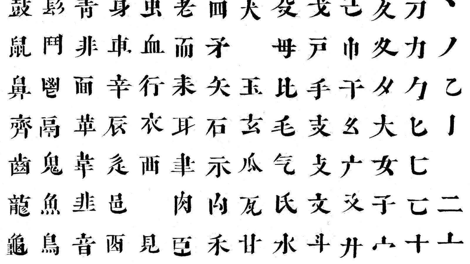 China: Die chinesische Sprache - Asien - Kultur - Planet ...