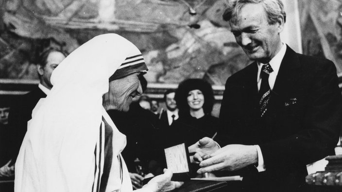 Mutter Theresa Friedensnobelpreis