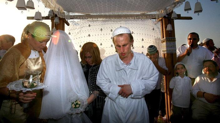 Hochzeit Judische Hochzeit Brauchtum Kultur Planet Wissen