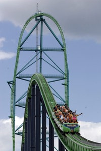 "Achterbahn ""Kingda Ka"" bei New York."