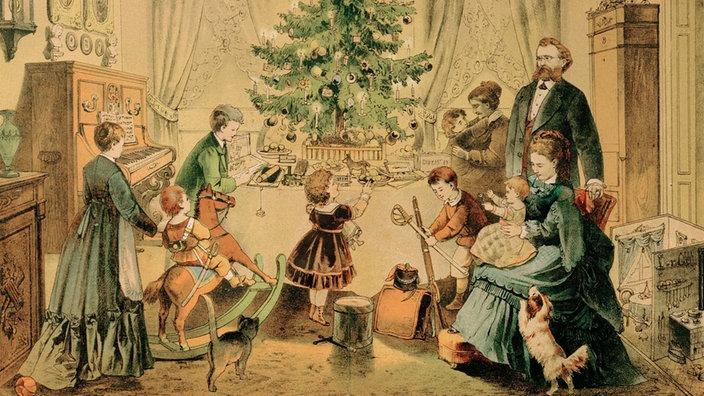 Geschichte Weihnachtsbaum.Brauchtum Weihnachtsbrauche Brauchtum Kultur Planet