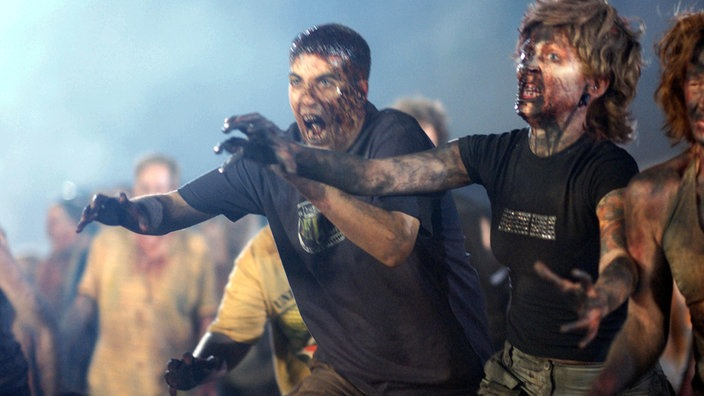 "Zombies greifen an: Filmszene aus ""Dawn Of The Dead""."