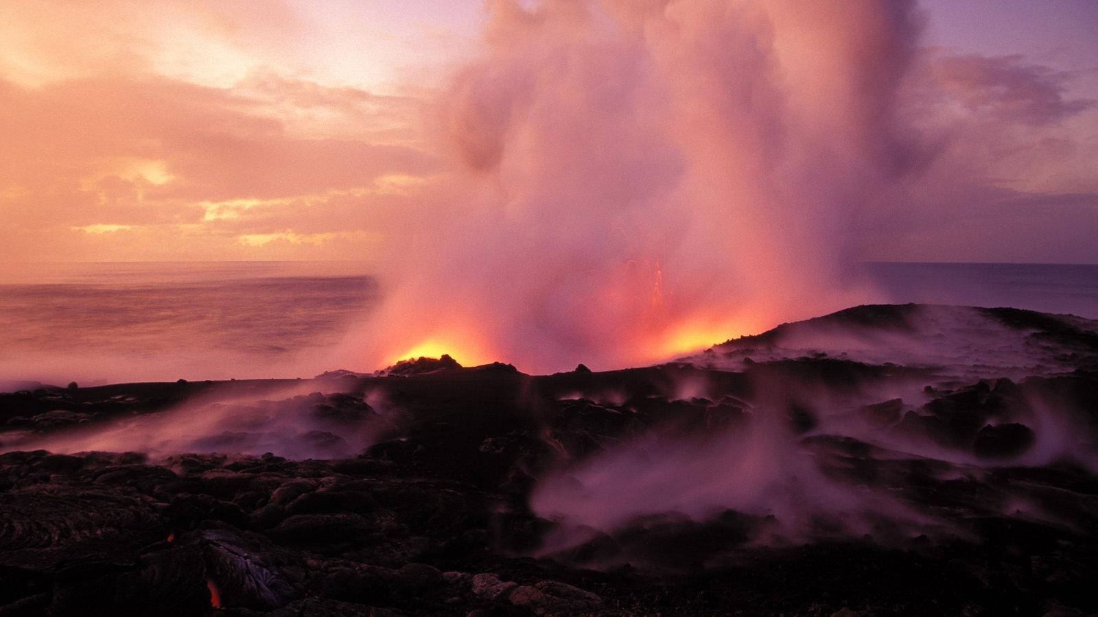 Loihi Island Of Hawaii