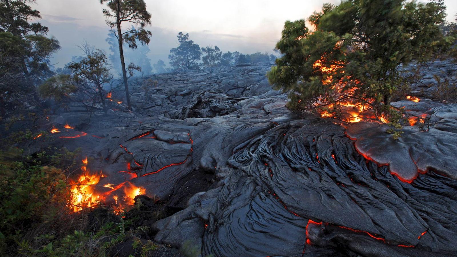 Hawaii  Vulkane - Inseln - Kultur