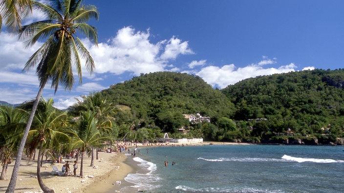 """playa """"Playa de Siboney"""" en la playa de Santiago de Cuba"""