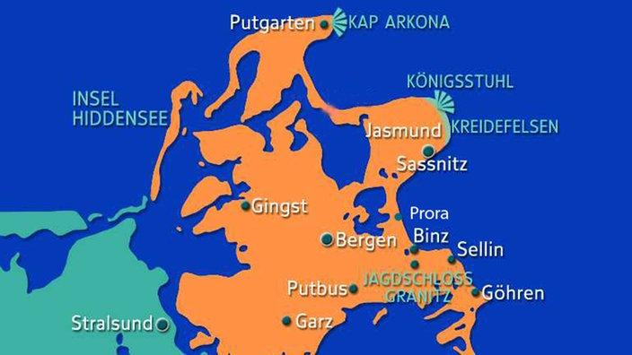 Ostsee Karte Rügen.Rügen Steckbrief Inseln Kultur Planet Wissen