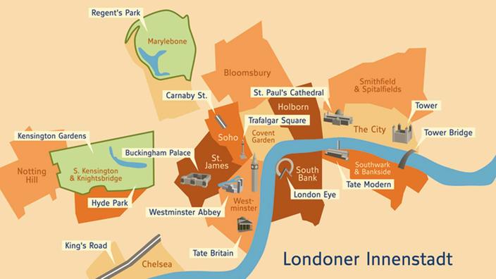 Karte London Stadtteile.Metropolen London Metropolen Kultur Planet Wissen