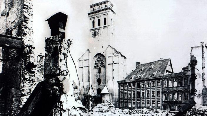 München Wiederaufbau Nach 1945 Metropolen Kultur Planet Wissen