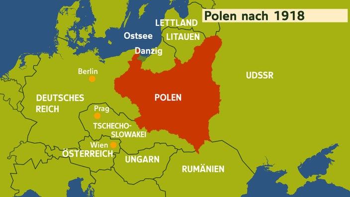 Deutsche Karte Vor Dem 1 Weltkrieg.Polen Geschichte Polens Mitteleuropa Kultur Planet Wissen