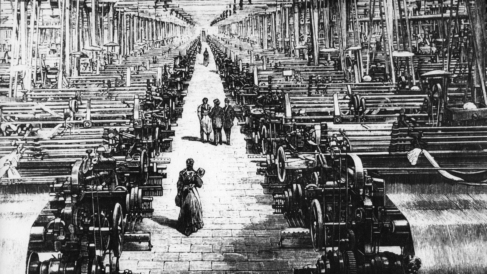 Industrialisierung Deutschland Beginn