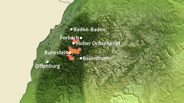 Nordschwarzwald Karte.Schwarzwald Nationalpark Schwarzwald Schwarzwald Mittelgebirge