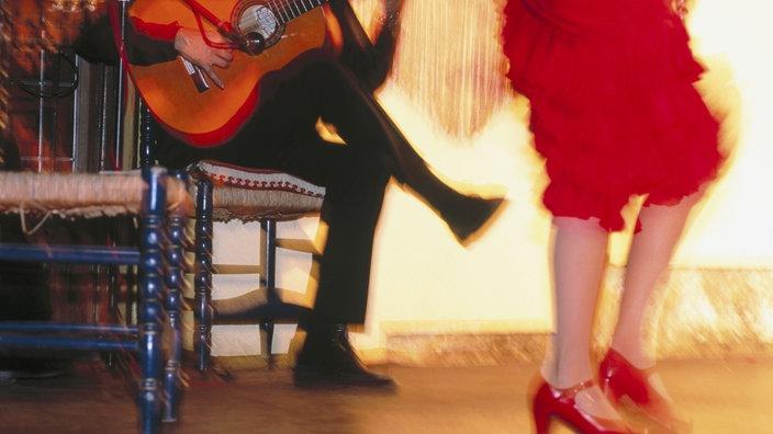 Flamenco tänzerin lucia